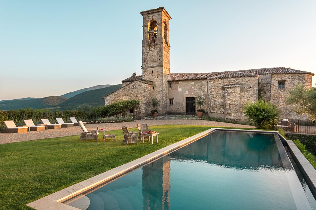 11th Century Castle, Umbria