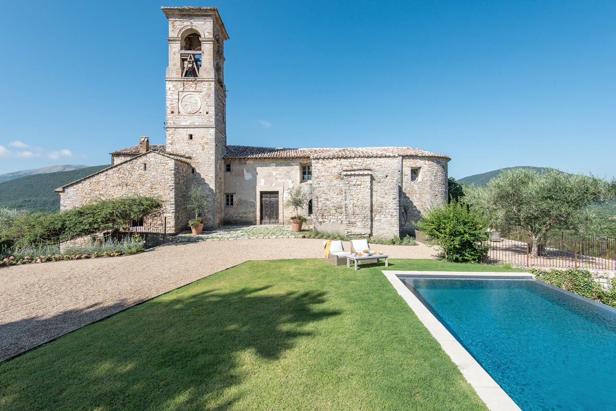 XI Century Hilltop home, Umbria, Perugia Area pool