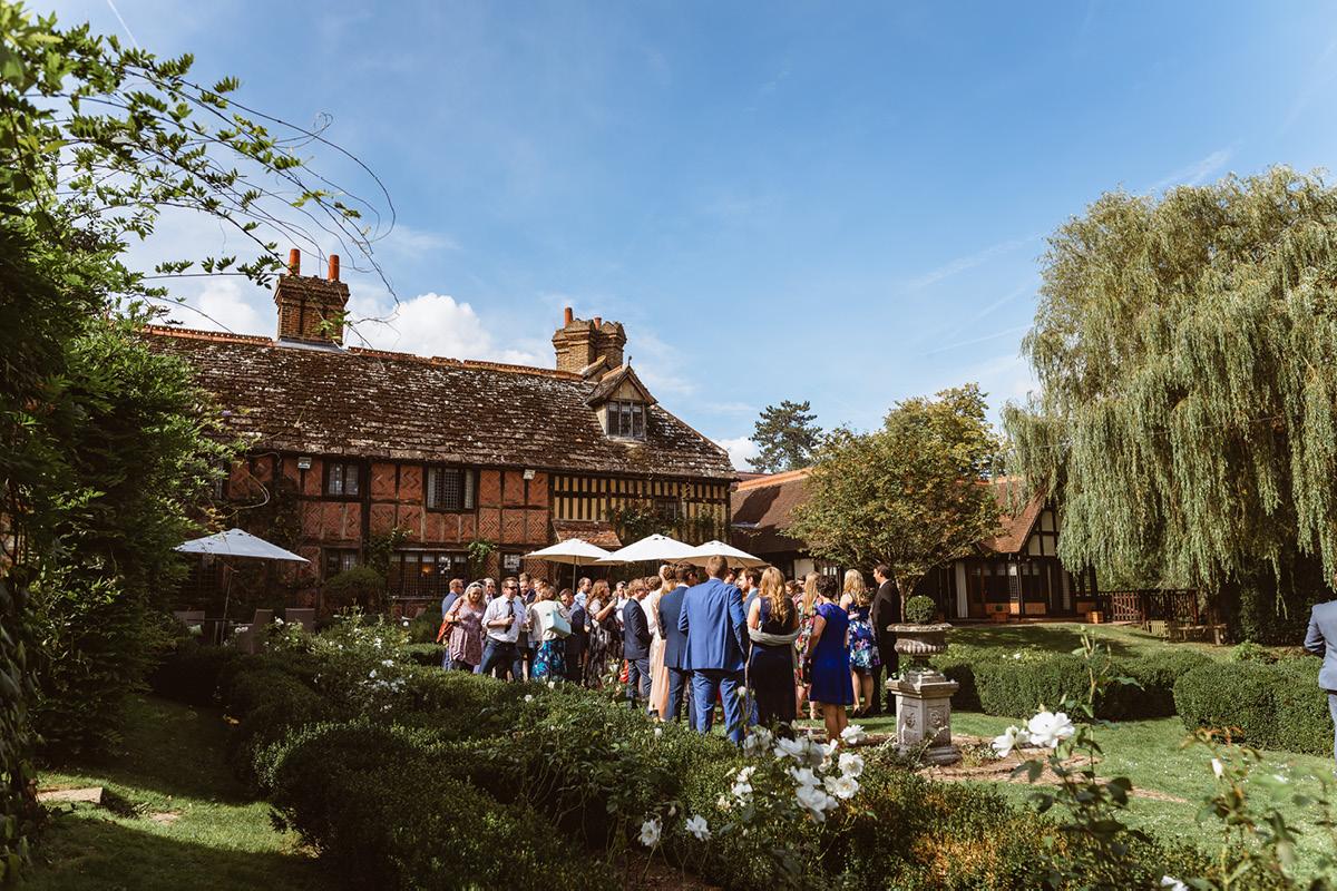 Langshott Manor gardens