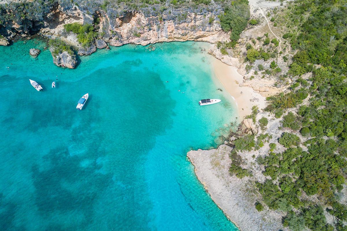 Anguilla beach cove