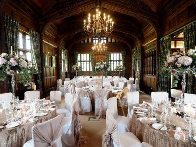Hever Castle wedding breakfast